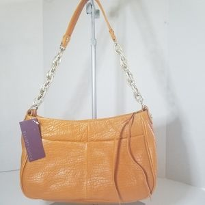 NWT Elliot Luccia pebbled leather handbag